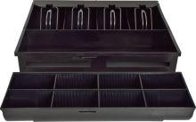 Pokladní zásuvka S-410, 4B/8C, 24V, matná černá